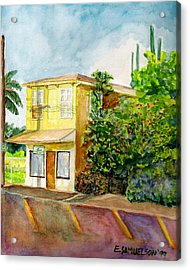 Hairbenders Of Paia Acrylic Print