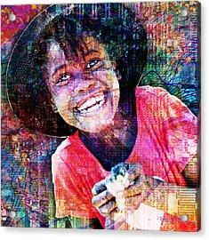 Haitian Daughter Acrylic Print