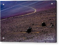 Acrylic Print featuring the photograph Haleakala 2 by M G Whittingham
