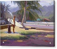 Haleiwa Epilogue Acrylic Print by Richard Robinson