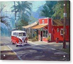 Haleiwa Acrylic Print