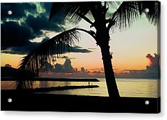 Haleiwa Acrylic Print by Steven Sparks