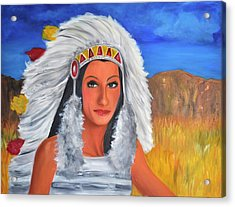 Half Breed Acrylic Print