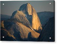 Half Dome At Sunset - Yosemite Acrylic Print by Stephen  Vecchiotti