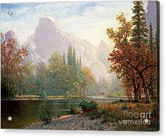 Half Dome Acrylic Print by Celestial Images
