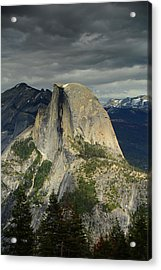 Half Dome From Pohono Trail 2 Acrylic Print