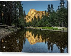 Half Dome From  The Merced Acrylic Print