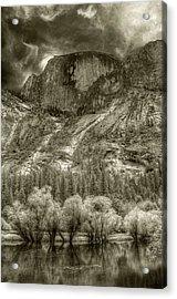 Half Dome Over Mirror Lake Acrylic Print