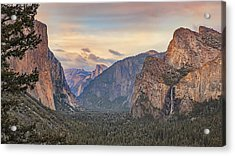 Yosemite Sunset Acrylic Print