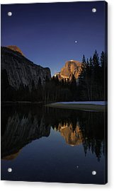 Half Dome, Twilight Acrylic Print