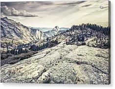 Half Dome View Acrylic Print