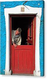 Half Door Acrylic Print by Aidan Moran