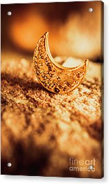 Half Moon Crescent. Bedtime Scene Acrylic Print by Jorgo Photography - Wall Art Gallery