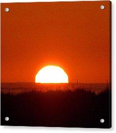 Half Sun Acrylic Print