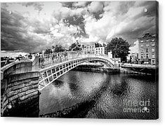 Halfpenny Bridge Acrylic Print