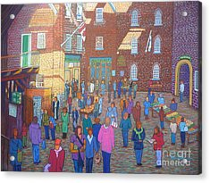 Halifax Farm Market Acrylic Print