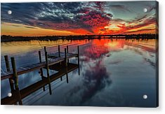 Halifax River Sunset Acrylic Print