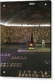 Hall Of Remembrance Acrylic Print