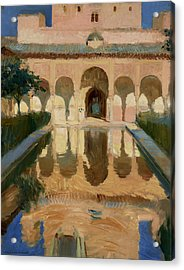 Hall Of The Ambassadors, Alhambra, Granada Acrylic Print