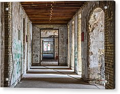 Hall To Patient Rooms Acrylic Print