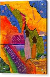 Hallelujah Praise Acrylic Print by Angela L Walker