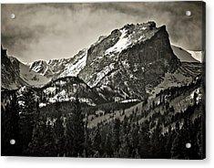 Hallet Peak, Rocky Mountain National Park Acrylic Print
