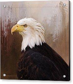Hallmark Of Courage - Eagle Art Acrylic Print