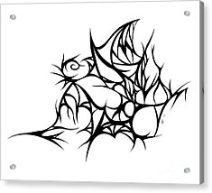 Hallow Web Acrylic Print