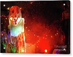 Acrylic Print featuring the photograph Halloween by Bill Thomson