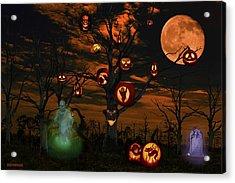 Halloween Eve Acrylic Print