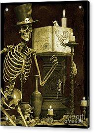 Halloween Graveyard-d Acrylic Print