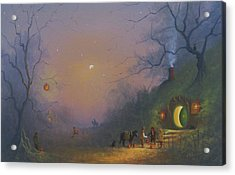 A Shire Halloween  Acrylic Print