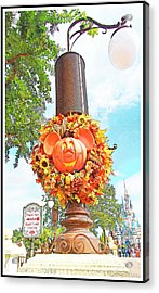 Halloween In Walt Disney World Acrylic Print