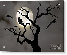 Halloween Acrylic Print by Jim Wright