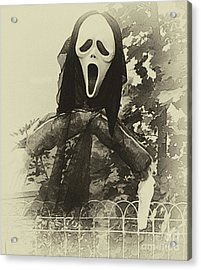 Halloween No 1 - The Scream  Acrylic Print