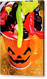 Halloween Party Details Acrylic Print