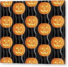 Halloween Pattern Acrylic Print