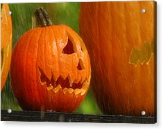 Halloween Pumpkin Acrylic Print