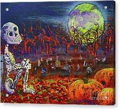 Halloween Serenity Acrylic Print