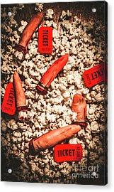 Halloween Slasher Film Acrylic Print by Jorgo Photography - Wall Art Gallery