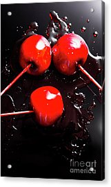 Halloween Toffee Apples Acrylic Print by Jorgo Photography - Wall Art Gallery