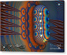 Hallucinogen Fractal Acrylic Print