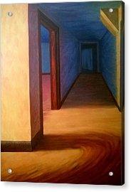 Hallway Acrylic Print by Joann Renner