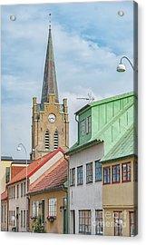 Acrylic Print featuring the photograph Halmstad Street Scene by Antony McAulay