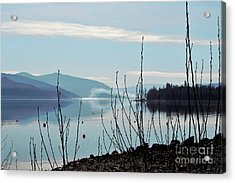 Halo On Copper Island Acrylic Print