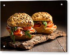 Ham Salad Rolls Acrylic Print