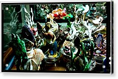 Hama Hama Trigger Checking Things Out Acrylic Print by Kirk Wieland