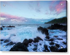 Acrylic Print featuring the photograph Hamakua Sunset by Ryan Manuel