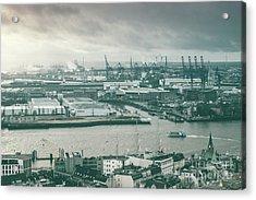 Hamburg Port  Acrylic Print