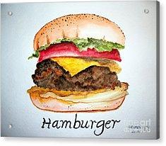 Hamburger 1 Acrylic Print